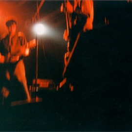 Live at The Brickyard (Vancouver), 1999. Photo by Jaynus Odo.