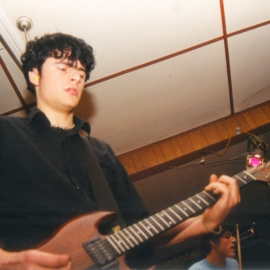 Live at Grantham Hall, Courtenay BC, 1999.