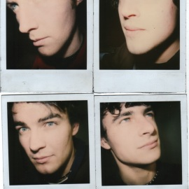 Radio Berlin in Olympia WA, spring 1999. Polaroids by Hollie Brown.